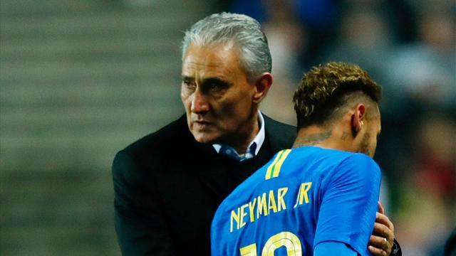 Neymar injury overshadows Brazil win over Cameroon