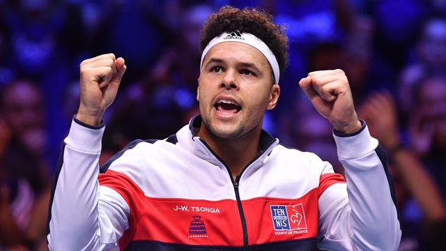 France go with Tsonga and Chardy in Davis Cup final singles