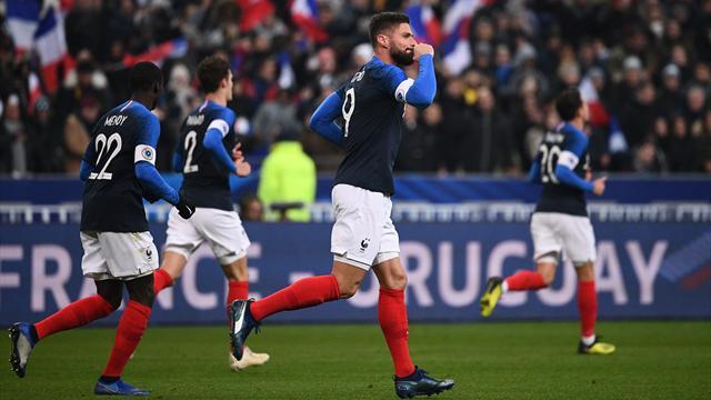 La France termine l'année sur un succès mérité