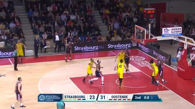 Groupe D - Strasbourg 61-64 Ostende
