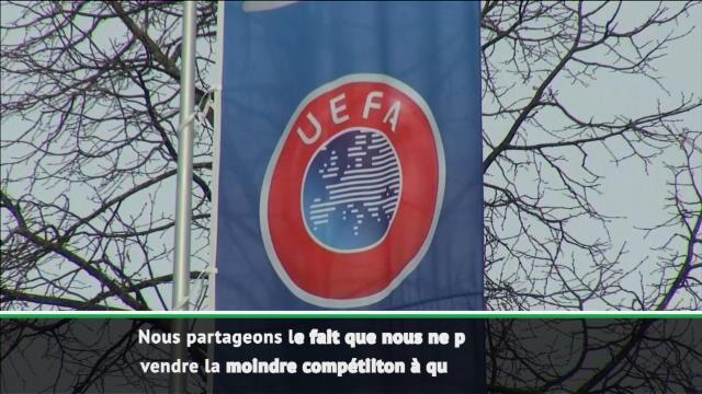 """UEFA - Ceferin : """"Le football n'est pas à vendre !"""""""