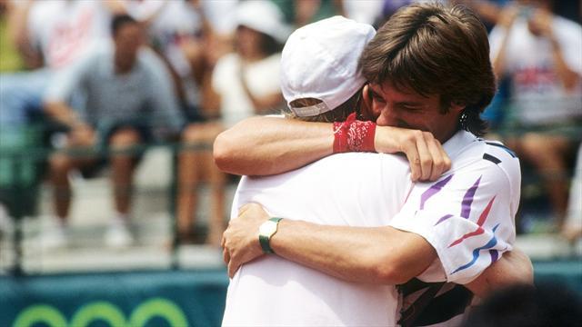 Zum 51. Geburtstag: So holte Becker mit Stich Olympia-Gold