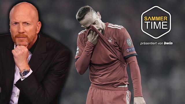Sammer exklusiv: Darum verliert Ribéry immer wieder Nerven