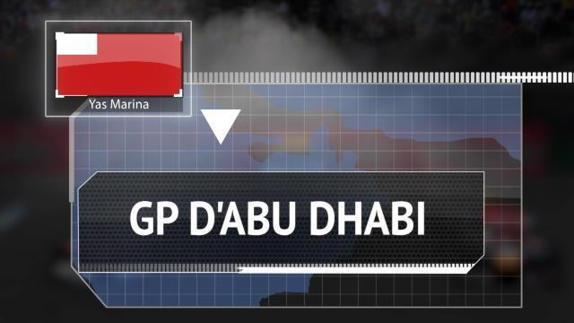 GP d'Abu Dhabi - Les chiffres à connaître