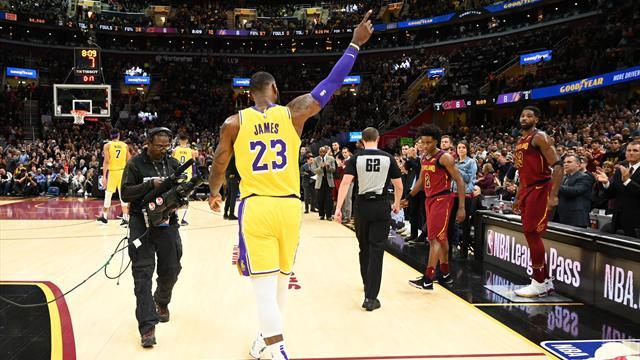 James revient à Cleveland en héros et repart avec la victoire