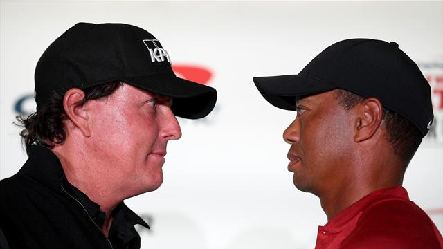 Mickelson: Beating Woods is worth more than £7m