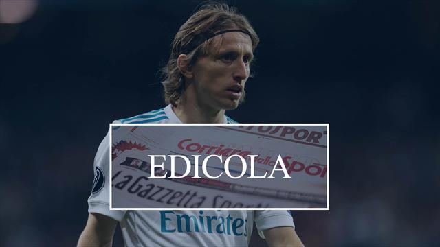 Edicola: Inter, pronto il doppio assalto a Kroos e Modric; Morata al Siviglia?
