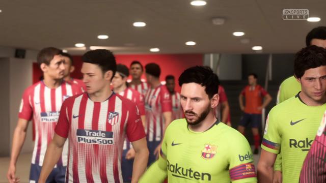 Liga Virtual: Así ha quedado el Atlético-Barcelona
