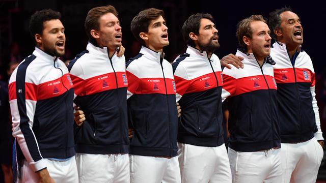 Las lágrimas de Mahut al escuchar el himno francés que emocionaron a todo un país