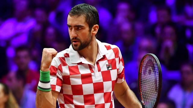 Copa Davis, Francia-Croacia: Cilic acerca la ensaladera (3-6, 5-7 y 4-6 Global: 0-2)