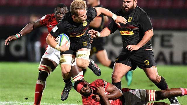 Rugby: Deutsches Team beendet WM-Qualifikation mit Kantersieg