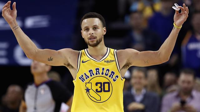 National Basketball Association  star Stephen Curry involved in multi-car crash