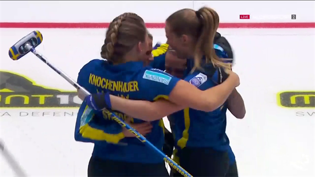 Schweden jubelt: EM-Gold im Curling-Finale gegen die Schweiz
