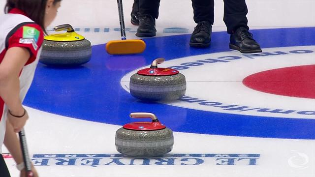 Canada upset hosts America at Curling World Cup