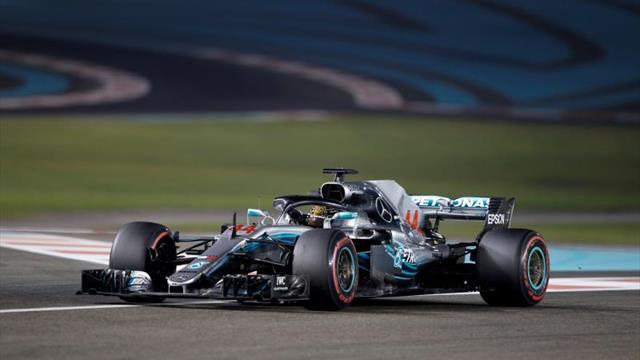 Hamilton cerró la temporada con un nuevo triunfo y una dedicatoria especial