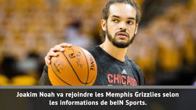 Grizzlies - Noah de retour en NBA
