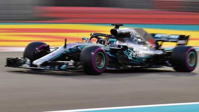 Hamilton on pole for final race of F1 season