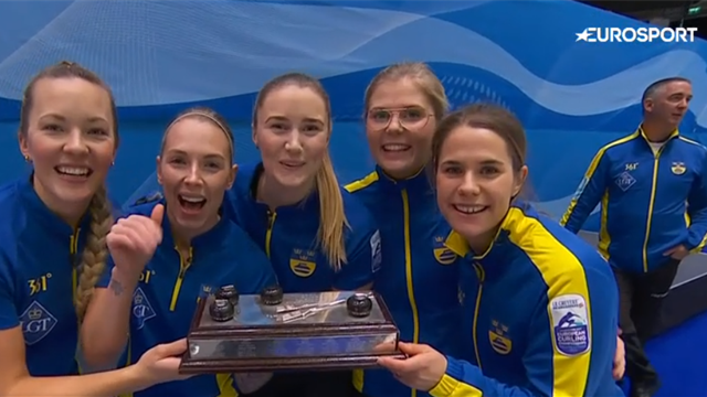 Sweden down Switzerland to win European gold