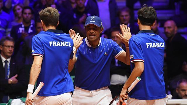 Final Copa Davis, Mahut/Herbet-Dodig/Pavic: Francia resiste (6-4, 6-4, 3-6 y 7-5 -3-; global 1-2)