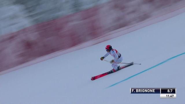 Killington women's GS: Federica Brignone's 1st run