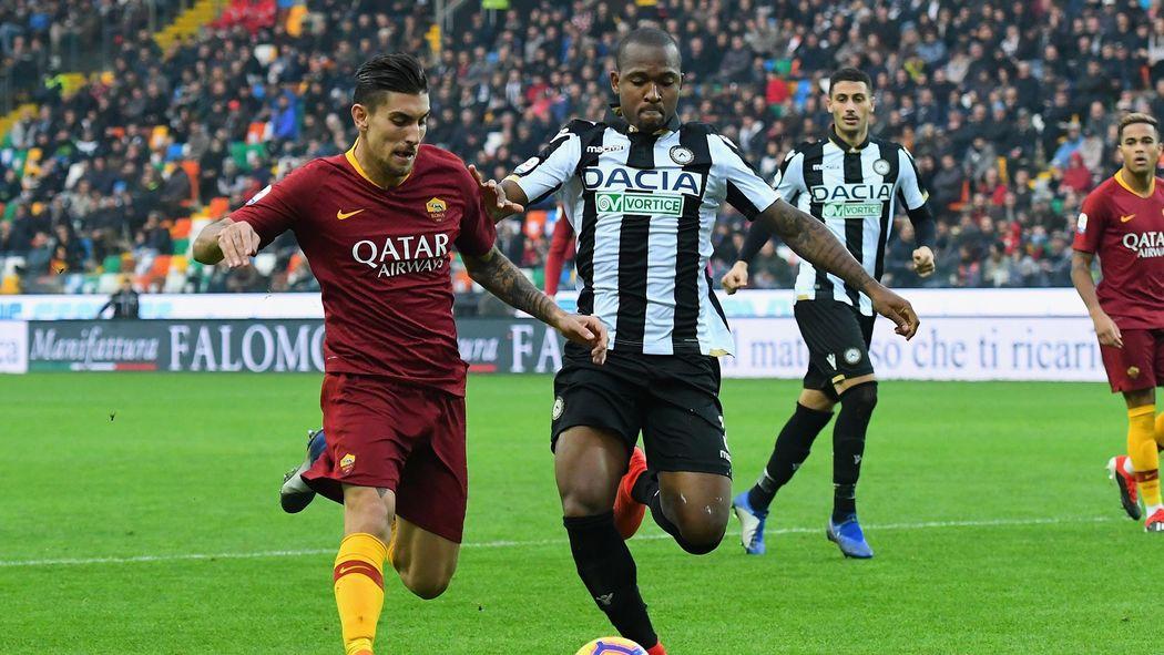 Pellegrini Roma Udinese