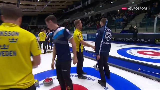 Svenskt curlingsilver - föll mot Skottland
