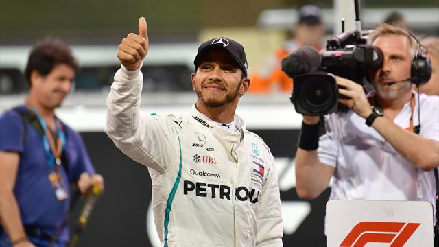 Abu Dhabi Grand Prix qualifying: Hamilton pips Bottas for final pole of the year