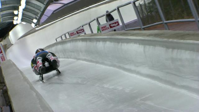 Steu and Koller win doubles luge in Innsbruck
