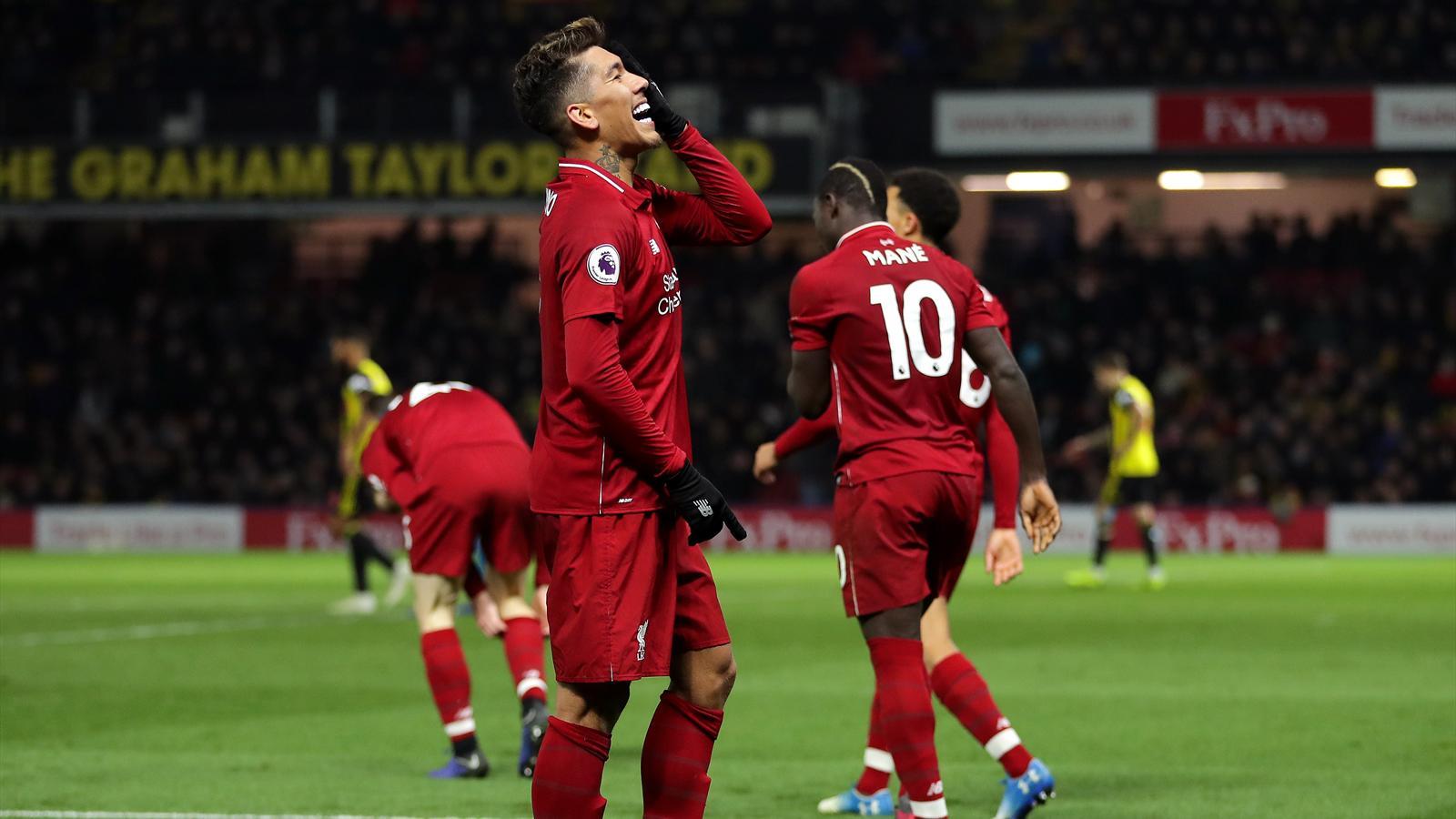 Liverpool Break Down Stubborn Watford To Keep Up City