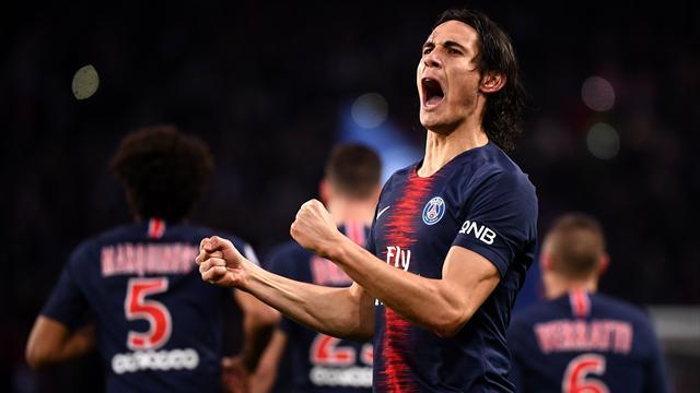 Cavani capitaine du PSG pour la première fois