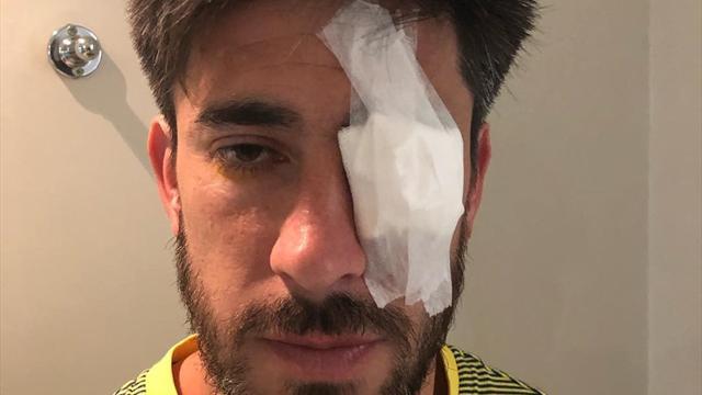 Lesione della cornea: Pablo Perez non giocherà il Superclasico dopo la follia del Monumental