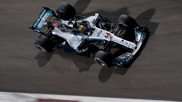 Hamilton vince ancora! Secondo Seb, poi Verstappen. Kimi out ma è terzo nel mondiale