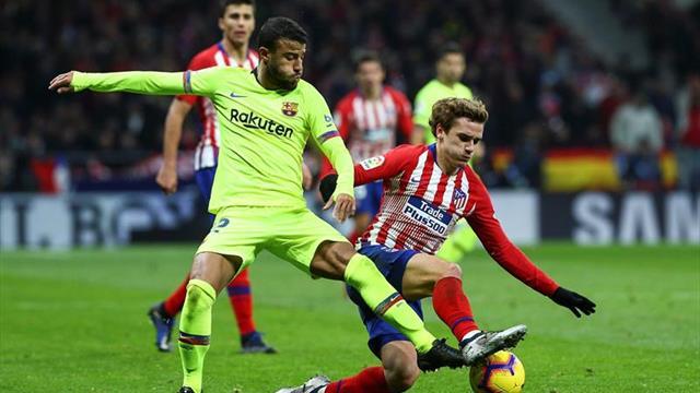 Barcelona confirmó rotura de ligamento cruzado anterior de Rafinha