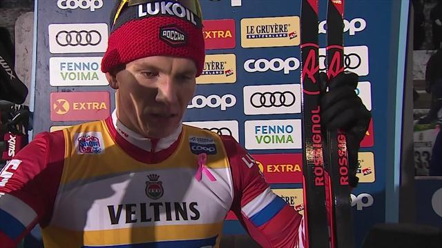 Большунов – о второй победе подряд: «Начал не так быстро, как обычно, но прибавил в конце»