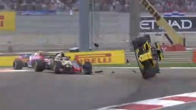 Hulkenberg couldn't see Grosjean in clash