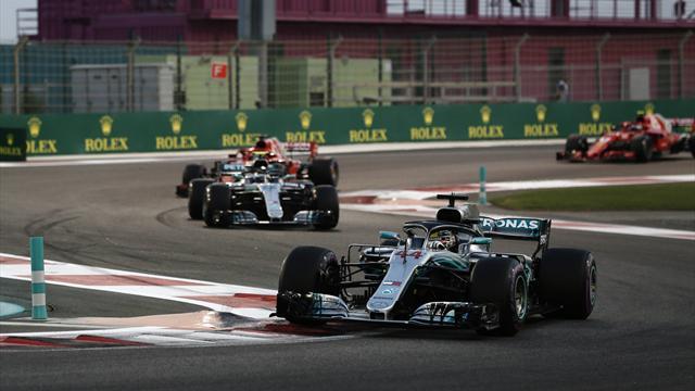 Ausrufezeichen zum Schluss: Weltmeister Hamilton gewinnt auch in Abu Dhabi
