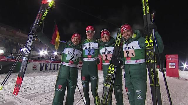 Germany ease to Nordic Combined win in Ruka