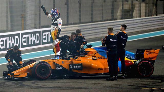 """Alonso saluta """"Grazie a tutti, mi sento privilegiato"""", Hamilton e Vettel """"Ci mancherà"""""""
