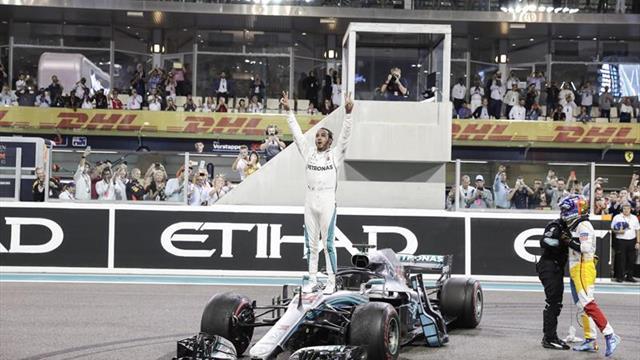 Hamilton no perdona en la despedida de Alonso