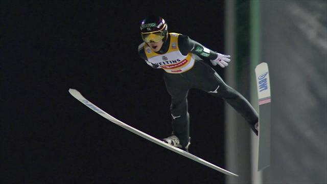 Saltos de esquí: Ryoyu Kobayashi se lleva la victoria con un último intento excepcional