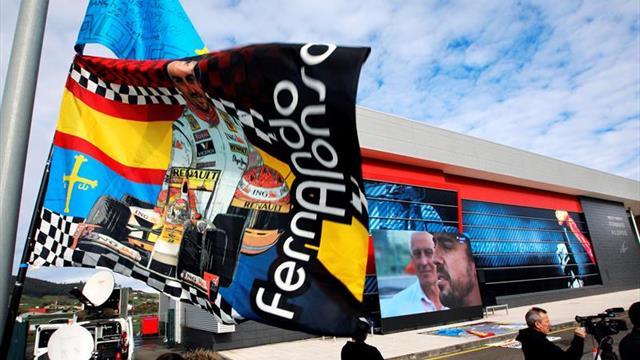 Asturias arropa a Alonso en su despedida del gran circo