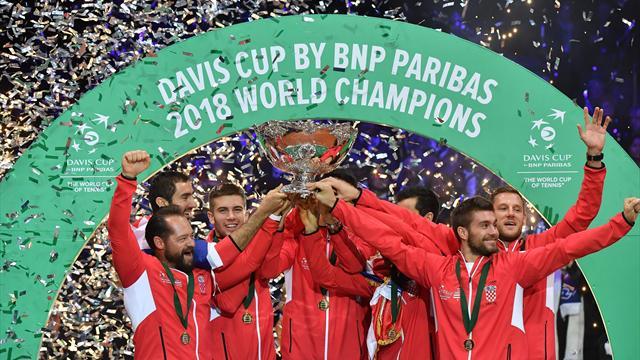 La France dans le premier chapeau de la Coupe Davis new look
