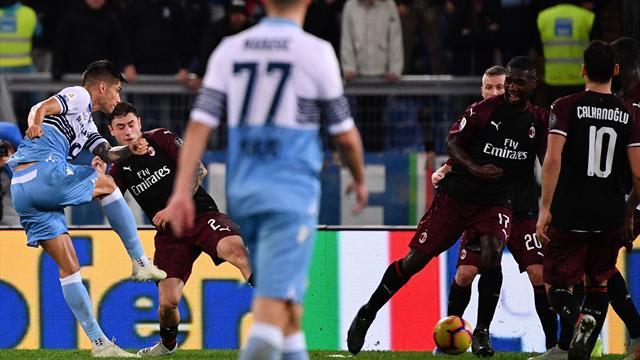 Lazio-Milan in Diretta tv e Live-Streaming