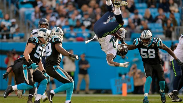 NFL star somehow lands on his feet after mid-air flip