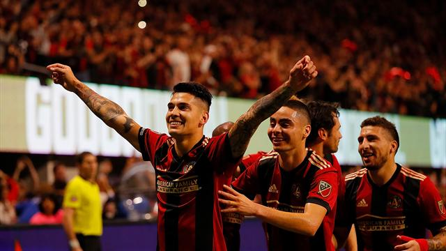 Atlanta close in on MLS Cup place after win over Red Bulls