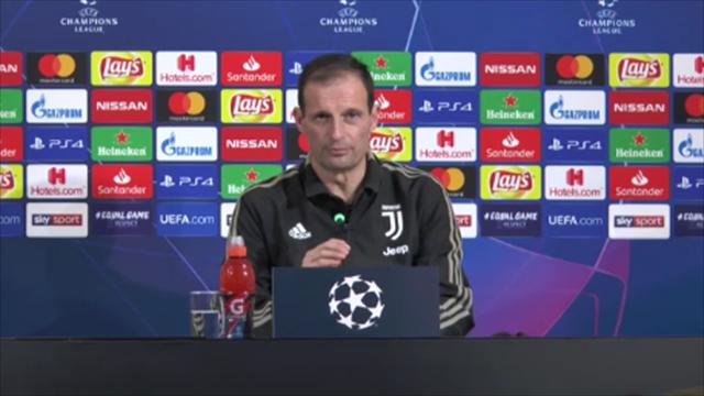 """Allegri: """"Non dovremo addormentarci come abbiamo fatto con lo United"""""""