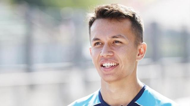 Thailand's Albon to race for Toro Rosso in 2019