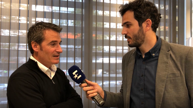 """Galo Blanco en exclusiva a Eurosport """"Haremos ver a los jugadores que esto es un formato mejor"""""""