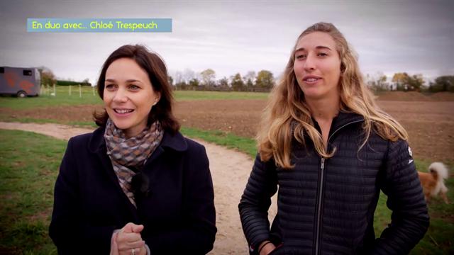 En duo avec... Nathalie Péchalat à la rencontre de Chloé Trespeuch