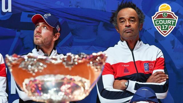 Les Bleus et la Coupe Davis, terminus ou nouveau départ ? Le débat de Court 17